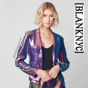 🆕 BlankNYC Cosmic Charge Sequin Jacket